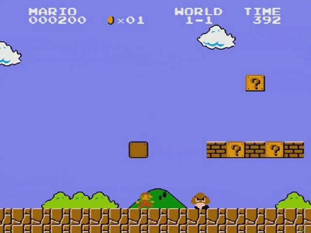 Super Mario Facebook