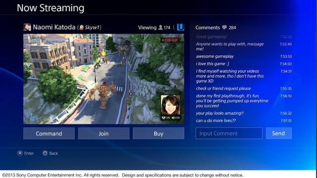 interfaz PS4 1